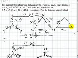 irwin 11 27 three phase tutorial, currents in a delta youtube Power Formula For 3 Phase Power Formula For 3 Phase #23 power formula for 3 phase