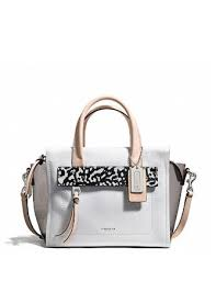 Coach Bleecker Mini Riley Carryall in Mixed Media