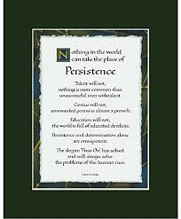 Calvin Coolidge Quotes Persistence Custom Amazon Ink Monkey Press Persistence Quote Print Calvin