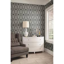 york wallcoverings geo trellis lw the home depot york sure strip g full size