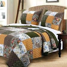 french style quilt binding french country king comforter sets vintage country paisley patchwork gold green cotton