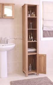 mobel solid oak tall open bathroom unit baumhaus mobel solid oak corner