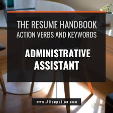 Be A Process Person Administrative Assistant Resume
