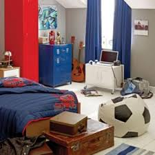 Soccer Bedroom Bedroom Cool Soccer Bedrooms For Boys Expansive Concrete Wall