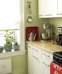 kitchens with white cabinets and green walls. Unique Cabinets White Cabinets Butcher Block Countertops And Green Walls My Classic  Favorite For Kitchens With Cabinets And Green Walls C