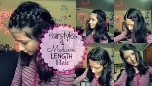 Cute Easy Medium Hairstyles Cute And Easy Hairstyles For Medium Length Hair Youtube
