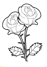 rose colored sheets unique coloring pages for kids roses color new