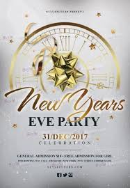 new year s template new year s eve party psd flyer template