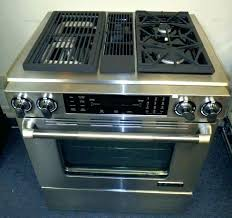 Kitchenaid Double Oven Reviews Gas Inch Range Kebs207bss