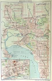Melbourne is a city in brevard county, florida, united states. Melbourne Street Map C 1890 Melbourne Map Melbourne Melbourne Suburbs
