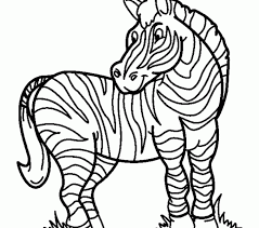 Small Picture click the cute baby zebra coloring pages and paw print vector