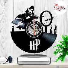 Record Gifts Harry Potter Hogwarts Vinyl Record Wall Clock Birthday Gifts Ideas