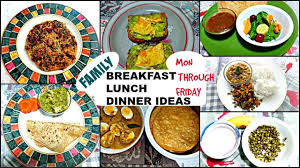 Breakfast Lunch And Dinner Chart Healthy Indian Food Healthy Diet Chart For Indian Family