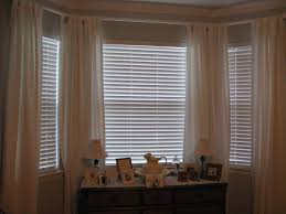 Window Treatment Living Room Black Accents Beige Wall White Coffee ...