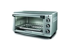 toaster oven with air fryer technology black and decker convection countertop blackdecker to1675b 6 slice large