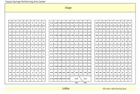 Carol Morsani Hall Seating Chart Venue Seating Charts Tarpon Arts