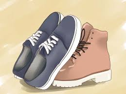how to shoes