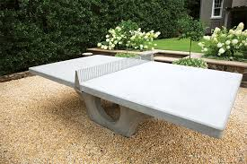 concrete ping pong table. Diy Concrete Table Tennis Elegant For Long Lasting Outdoor Installations Ping Pong