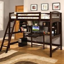 cool bunk beds with desk. Twin Bunk Bed With Work Station Cool Beds Desk