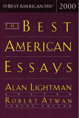 the best american essay series houghton mifflin harcourt the best american essays 2000