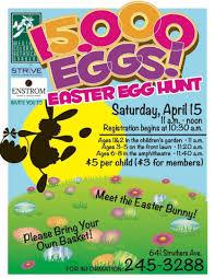 Easter Egg Hunt Flyer Strive