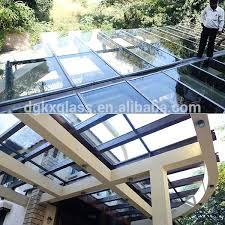 tempered laminated glass roofing panels roof panel on s india