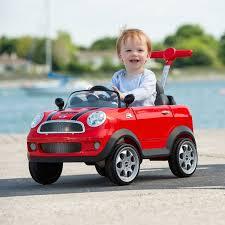 mini cooper push buggy red smyths toys uk