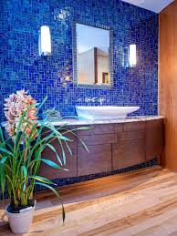 Blue Tiled Bathrooms Midcentury Modern Bathrooms Pictures Ideas From Hgtv Hgtv
