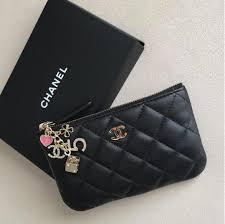 chanel purse. chanel black casino coin purse 1