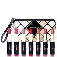 mirenesse maxi tone lip bar plete collection limited edition makeup bag 8 piece