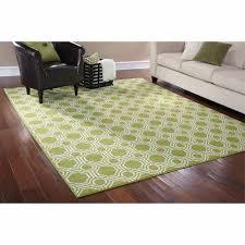 mainstays rug in a bag mosaic area rug greenwhite  walmartcom