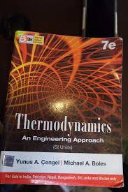 Thermodynamics an Engineering Approach (si Units) Yunus Cengel ...