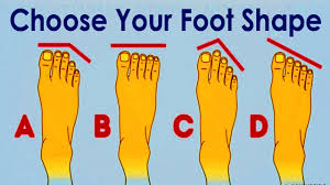 Your Foot Shape Can Tell About Your Personality
