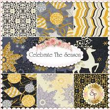 19 best Quilting Treasures images on Pinterest | Beautiful ... & Celebrate The Season 8 FQ Set By Studio 8 For Quilting Treasures Adamdwight.com