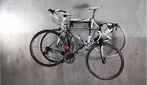 Interbay Wall Mounted Bike Rack Sportworks Wall Mounted Bike Rack