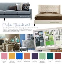 2018 top color trends good s home furnishings plus the hottest new furniture looks and designer color palettes