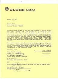 Woodstock 1969 Authenticity Certification Letter Music Rocks