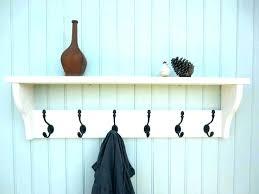 wall coat racks wall coat rack with shelf kids racks for best ideas on intended home