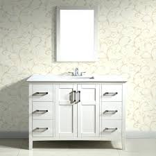 40 inch bathroom vanity white with top amazing co intended for plan 6 canada