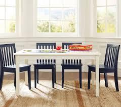 kids dining table carolina large table u0026 4 chairs set pottery barn gdeuxsd