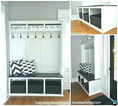 how to build a mudroom bench with cubbies entryway bench plans entryway bench ideas entry bench