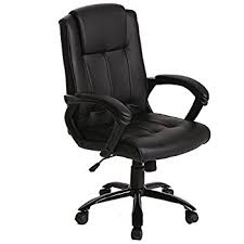 executive computer chair. PU Leather Ergonomic Office Executive Computer Desk Task Chair E
