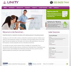 new website launched for unity recruitment clicky media they required a website the same functionality as some of the industry leading recruitment and job websites