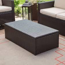 favorite storage coffee tables regarding c coast berea outdoor wicker storage coffee table gallery 3
