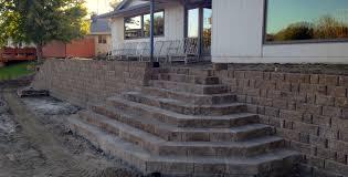 retaining wall omaha ideal renovations 402 778 9991
