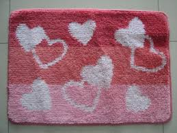 red heart shaped cut pile carpet door mat small area rugs for tv room images