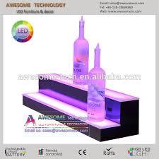Bar Bottle Display Stand led light bottle holder bar shelf bar liquor bottle stand led 49