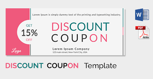 Coupon Templates 31 Free Word Psd Pdf Documents Download