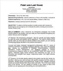 Federal Resume Example 2015 Gojiberrycilegi Com