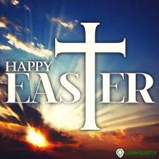 happy easter with cross pictures